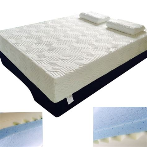 Memory Foam Mattress Soft by 14 Quot King Size Three Layers Cool Medium Soft Firm Memory