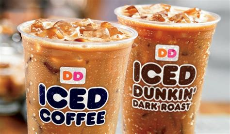 Iced Coffee Dunkin Donuts free iced coffee at dunkin donuts on monday sun sentinel
