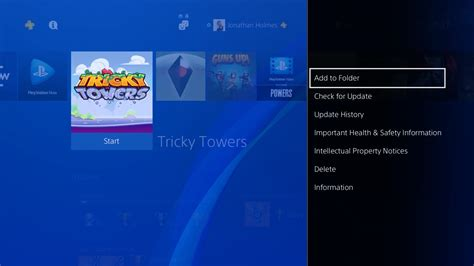 playstation 4 app how to organise your and apps with ps4 folders