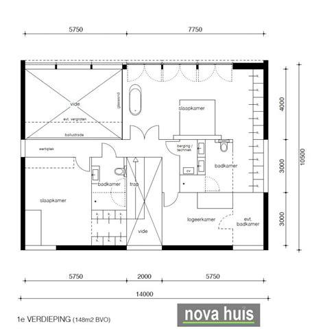 huis indeling tips trendy novahuis moderne kubistische villa met veel ramen