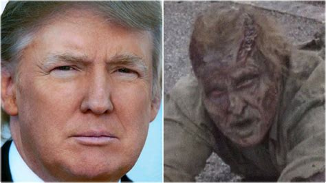 donald trump is dead donald trump s caign targeted the walking dead viewers