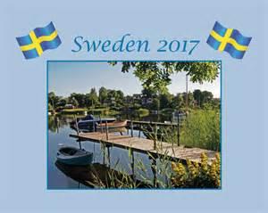 Sweden Kalendar 2018 Sweden Med Kuvert 2017 Hos Kalenderkungen