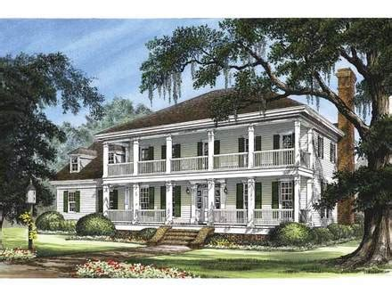 Greek Revival Plantation House Plans House Design Ideas