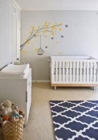 Baby Nursery Decor Australia Adorable Gray Blue Gender Neutral Nursery Design With Gray Walls Paint Color White Modern