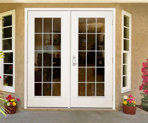 60 Patio Door Veranda 60 Inch 15 Lite Lefthand Outswing Patio Door The Home Depot Canada