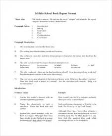 Book Report Guidelines Sample Book Report 8 Documents In Pdf Word