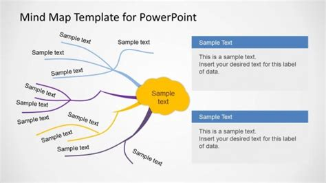 mind map templates free professional powerpoint templates slides slidemodel