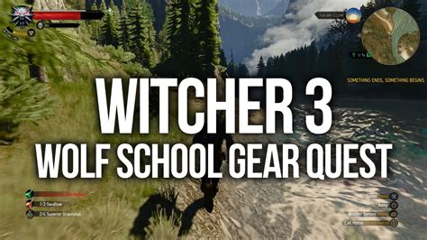 witcher 3 wolf location school gear witcher 3 wolf school diagram map locations gear and