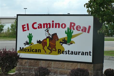 el camino real menu el camino real for mexican food elkhart indiana