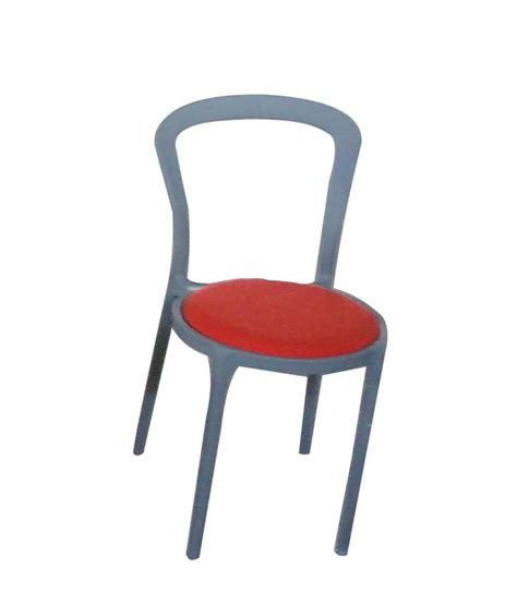 Circle Shaped Chair by Cbm Grey Color Plastic Dining Chair Buy Rs