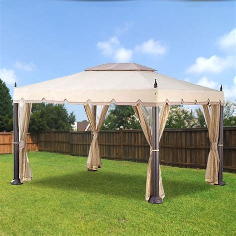 Pacific Casual 10 ft. x 12 ft. Mediterra Gazebo ... W Home Depot Order Status