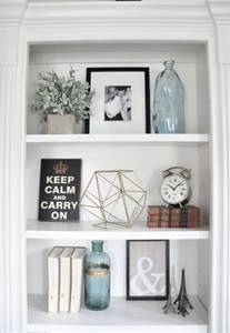 Home Decor For Shelves Best 25 Decorating A Bookcase Ideas On Pinterest