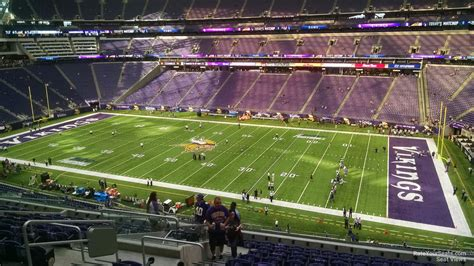 section 13 1 a u s bank stadium section 230 rateyourseats com