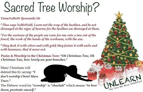pagan origin of christmas tree nimrod the lord of sheepletv
