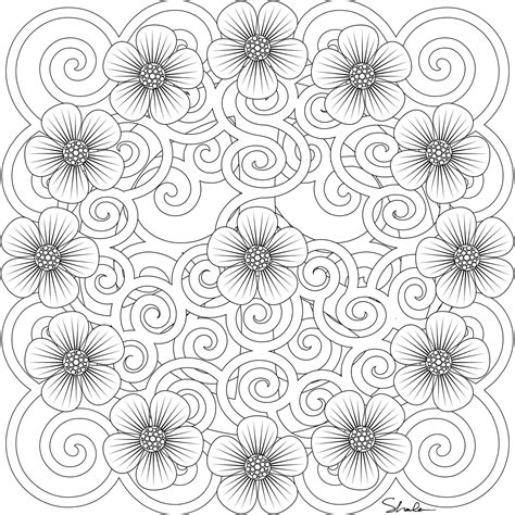 mandala coloring books for adults 1000 images about coloring for adults on