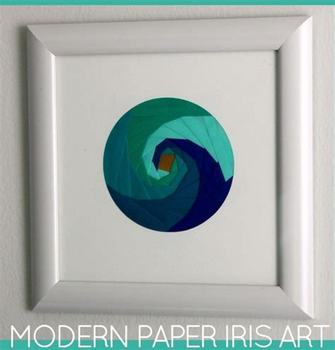 Modern Paper - modern paper iris the homes i made