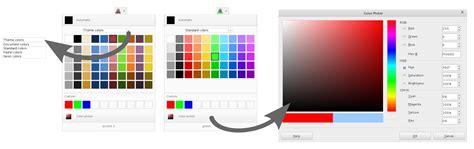color picker design whiteboards color picker the document foundation wiki