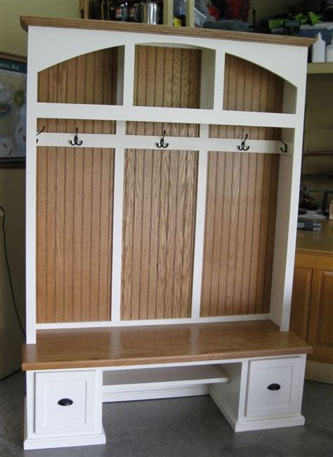 hall tree  bench entryway bench coat rack shoe rack