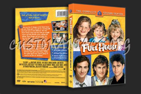 full house on dvd full house season 2 dvd cover dvd covers labels by customaniacs id 137748 free