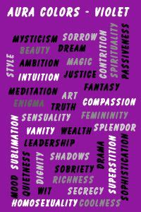 aura colors violet aura colors aura colors meaning