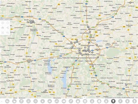 karten de regionen deutschland karte