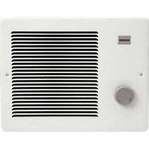 Radiant Bathroom Wall Heaters Electric by Electric Wall Heater Radiant Mount Broan 750 1500 Watt 120