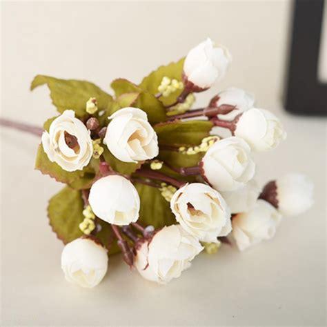 Handmade Artificial Flowers - handmade floral bouquet artificial silk flowers