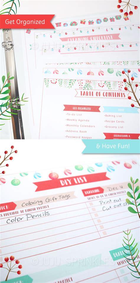 christmas planner 2015 ultimate printable holiday planning the ultimate holiday planner printable juju sprinkles