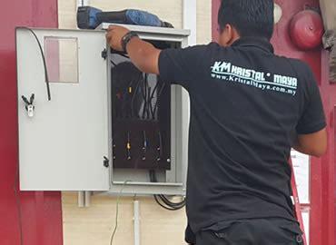 Pasang Meter Elektrik kontraktor elektrik rumah kediaman dan pejabat