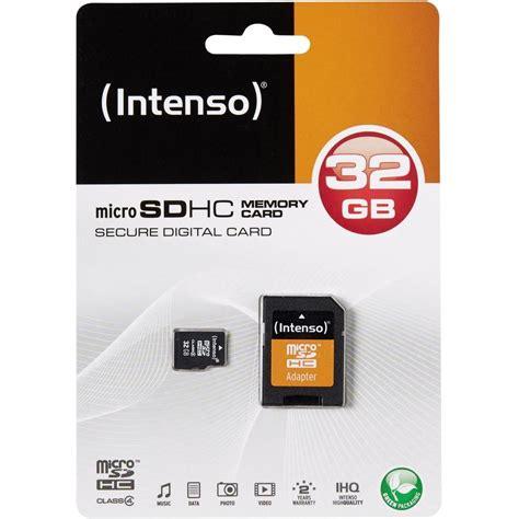 Micro Sdhc Card 32 Gb carte microsdhc intenso 32 gb micro sdhc card 32 go class
