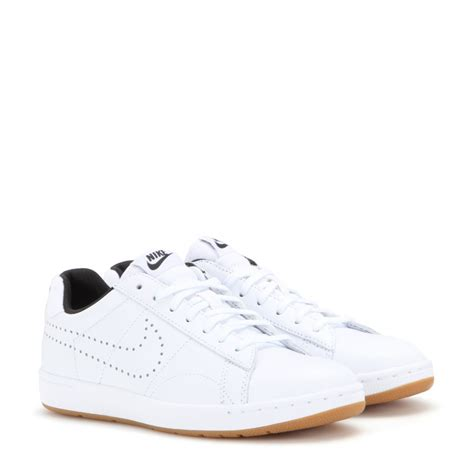 nike tennis classic ultra sneakers in white lyst