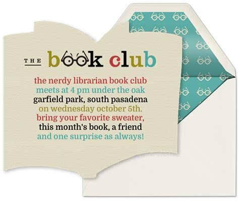 book club invitation template book club guide evite