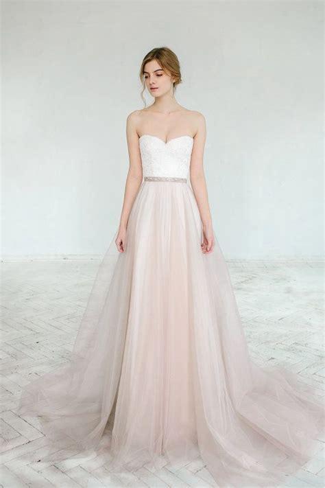 blush wedding gown dahlia 2 pieces wedding skirts