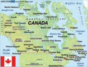 free canadian road maps