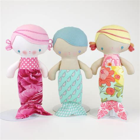 you doll design etsy sale baby mermaid doll pdf pattern