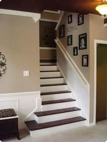 Diy Carpet Stairs by My Biggest Diy Project The Stairs From Thrifty Decor