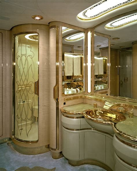 private plane bathroom inside the world s most opulent private jets wired