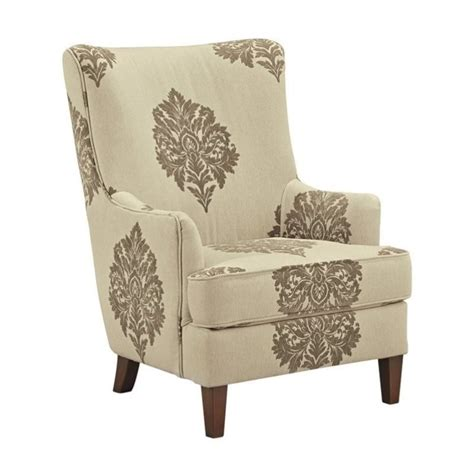 High Back Accent Chair Berwyn View High Back Fabric Accent Chair In Quartz 898xx21