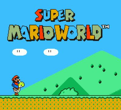 super mario world nintendo(nes) rom download