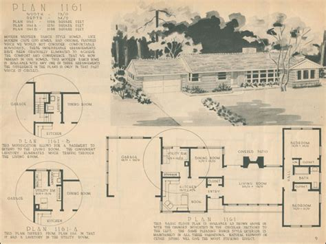 1960s ranch house plans 1960 ranch style homes 1950 ranch style house plans for