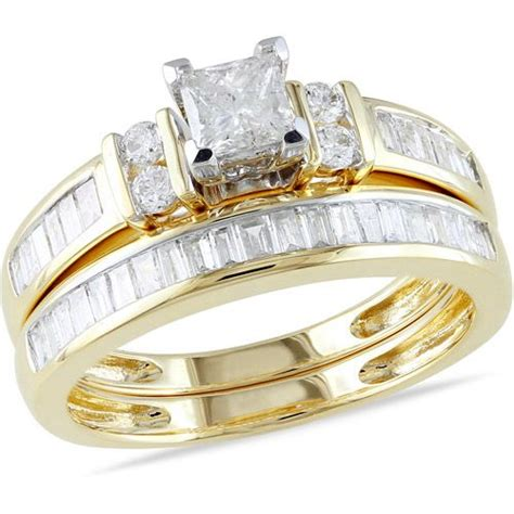 miabella 1 carat t w princess cut engagement ring