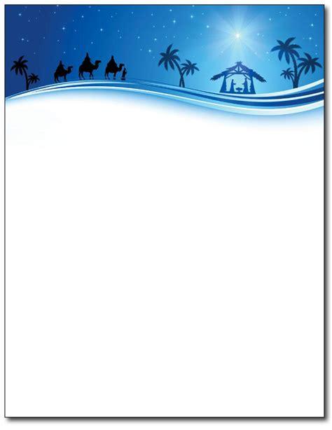 Christian Christmas Stationery Religious Christmas Stationery Free Religious Letter Template