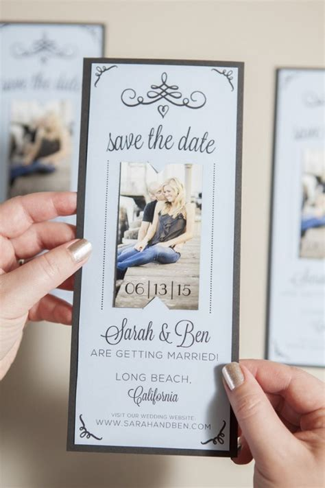 magnet save the date free printable tutorial free