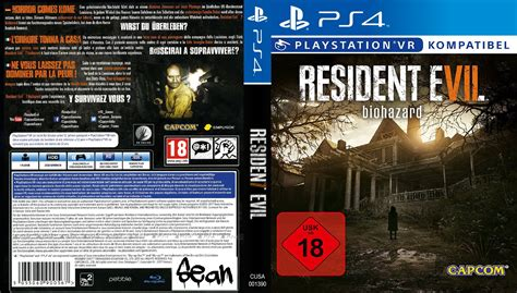 Ps4 Resident Evil 7 R2 resident evil 7 dvd cover 2017 german custom ps4