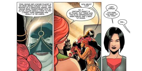dc comics confirms harley quinn  poison ivy  married