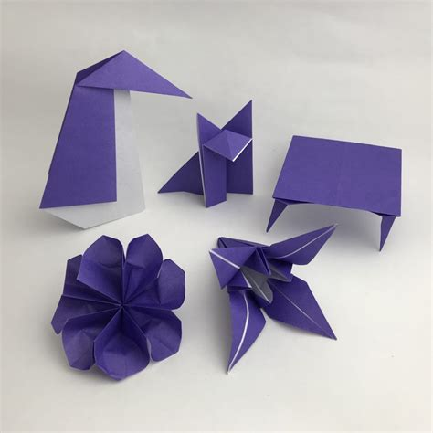 Learn Origami - learn origami course 4 purple belt taro s origami
