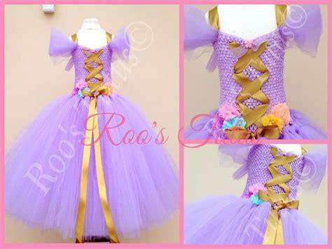 Handmade Rapunzel Dress - rapunzel inspired dress deluxe tutu dress costume