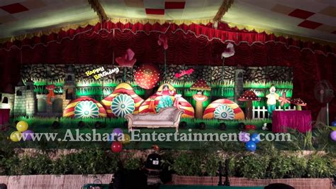 birthday themes hyderabad birthday party planners in hyderabad akshara entertainments