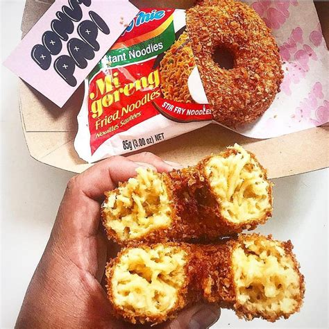 donat indomie goreng makanan   viral