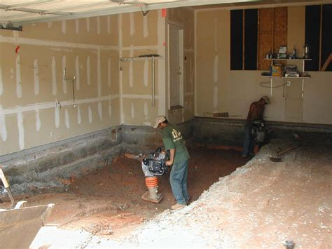 How To Replace Garage Floor by Sink Holes Remediation Outdoor Contracting